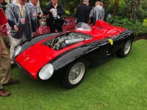 Cavallino Black and Red Car