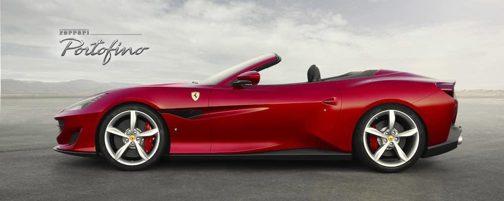Ferrari Portofino in profile