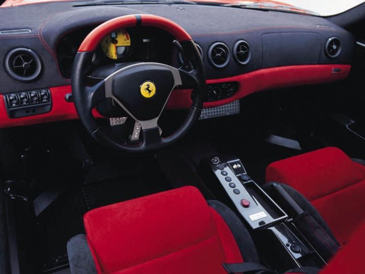 Ferrari 360 Challenge Stradale Interior