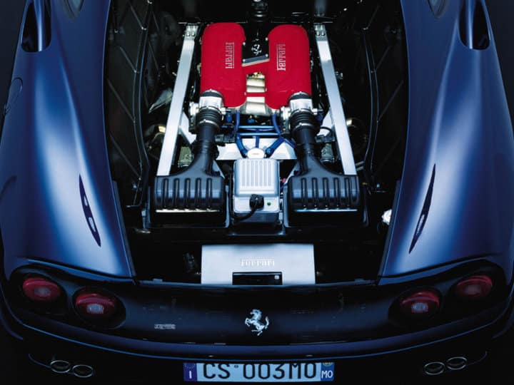 Ferrari 360 Challenge Stradale engine