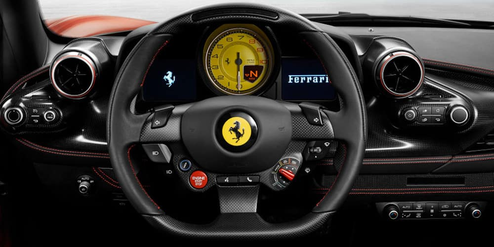 Ferrari F8 Tributo Interior and Design