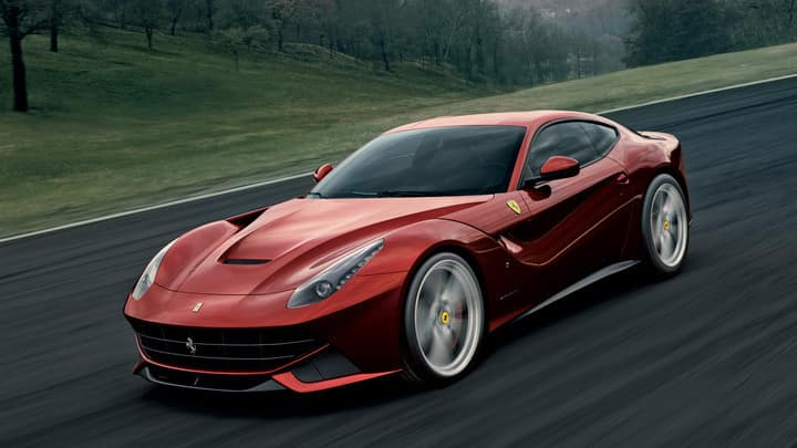 Ferrari F12berlinetta Comparison