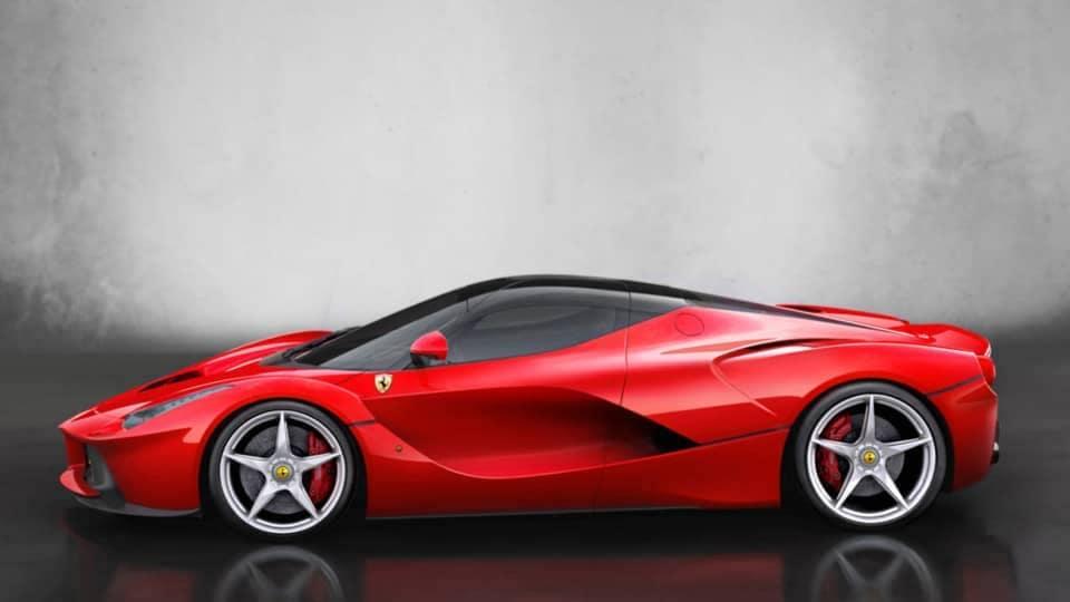 Ferrari LaFerrari comparison