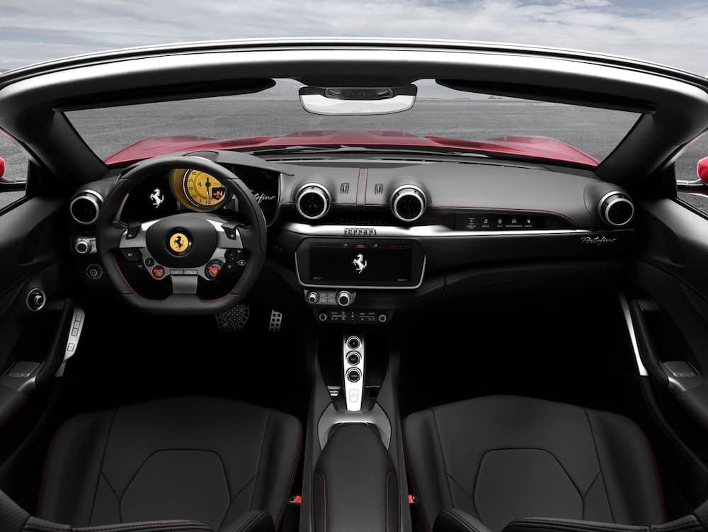 Ferrari Portofino front seats