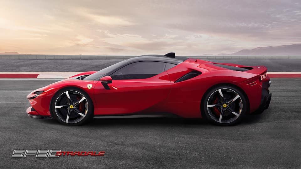 Ferrari SF90 Stradale comparison
