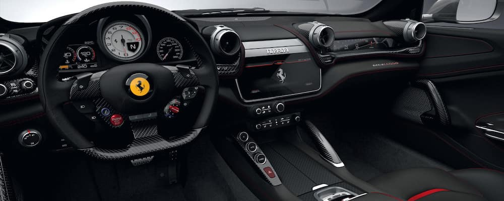 Ferrari GTC4Lusso T dashboard