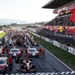 2019 Ferrari Finali Mondiali starting line