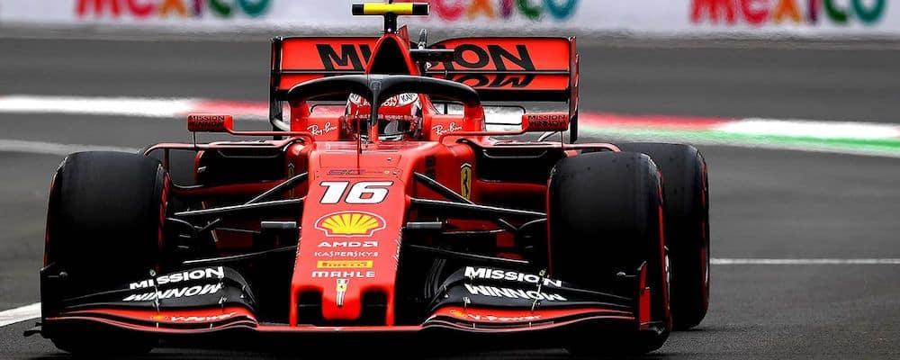 Ferrari F1 racing