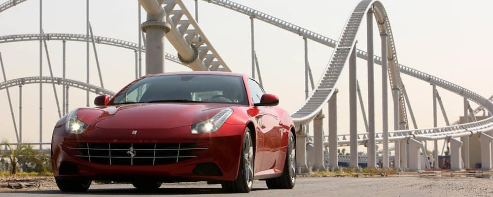 Parked Ferrari FF