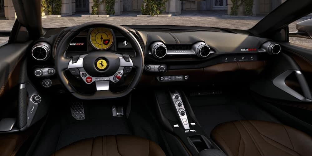 Ferrari 812 GTS dashboard