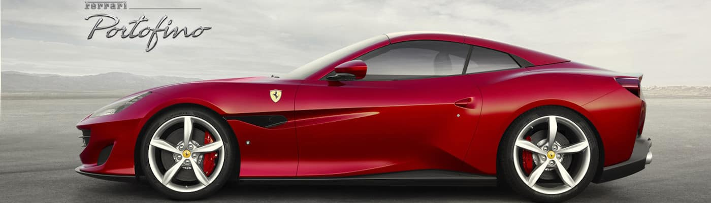 Ferrari Portofino in profile