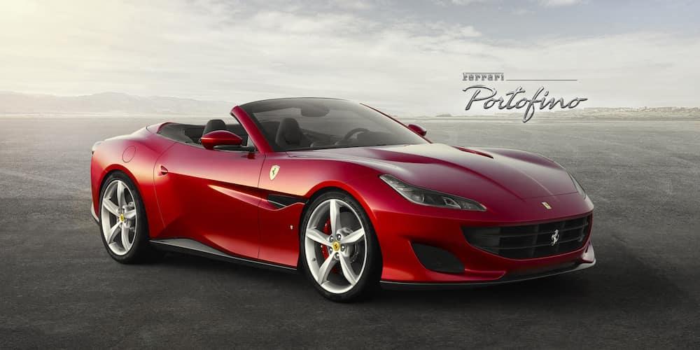 Parked Ferrari Portofino