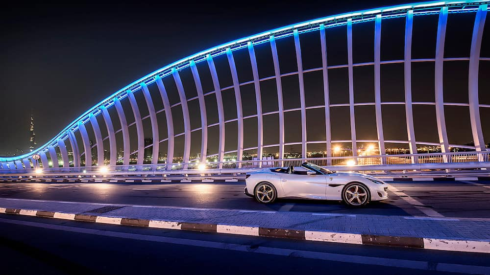 Portofino on a bridge in Dubai