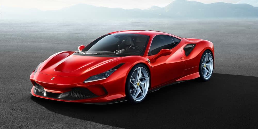 Parked Ferrari F8 Tributo