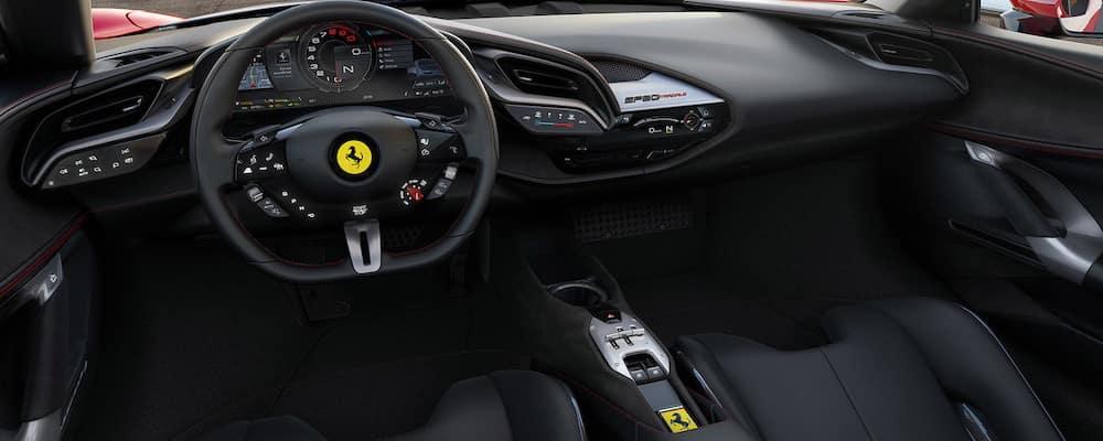 Ferrari SF90 Stradale dashboard