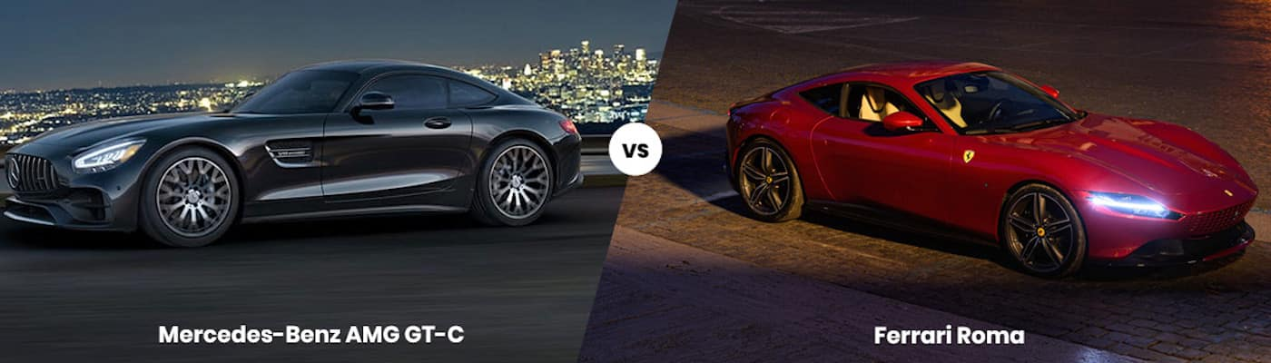 Mercedes-Benz AMG GT-C vs. Ferrari Roma