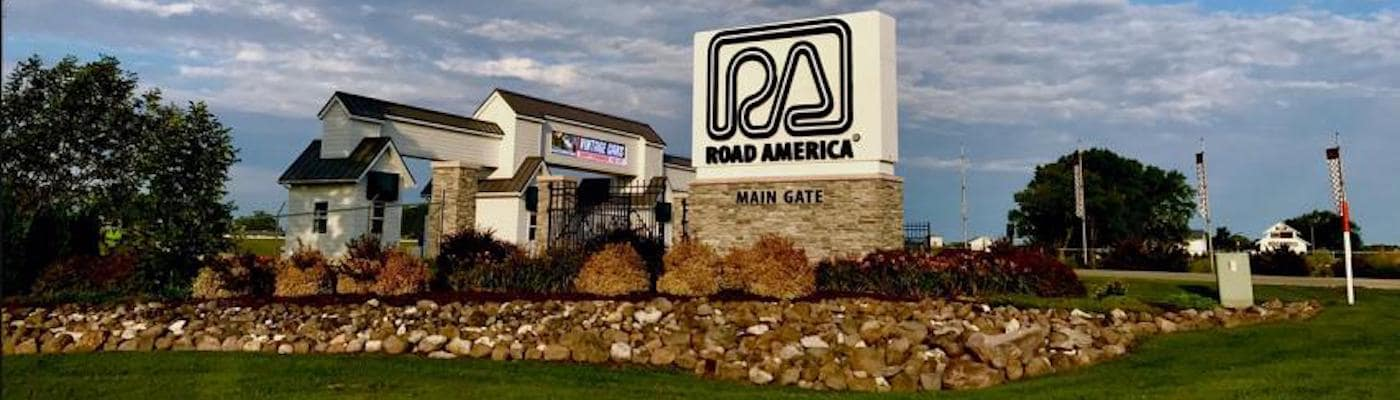 Road America main gate