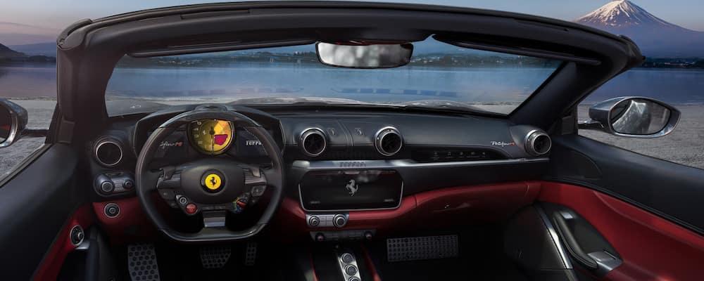Ferrari Portofino M dashboard