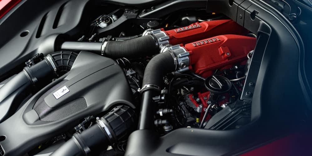Ferrari Roma engine