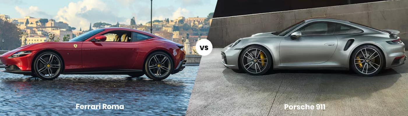 Ferrari Roma vs. Porsche 911