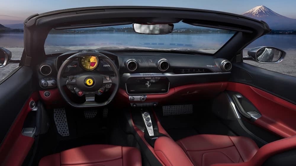 Ferrari Portofino M front seats