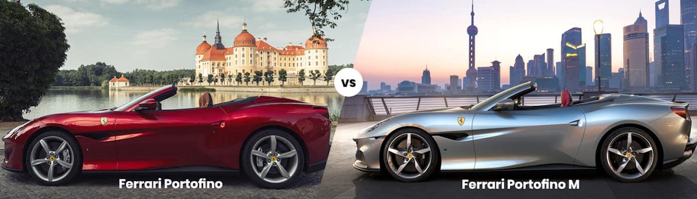Ferrari Portofino vs. Ferrari Portofino M