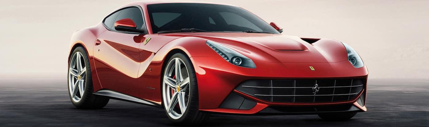 Ferrari F12berlinetta parked