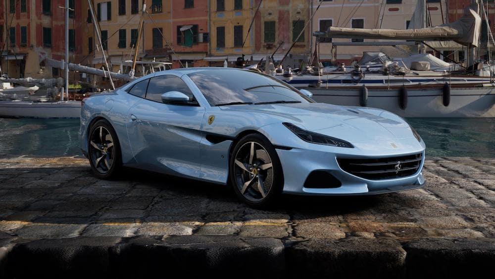 Ferrari Portofino M in Azzurro California