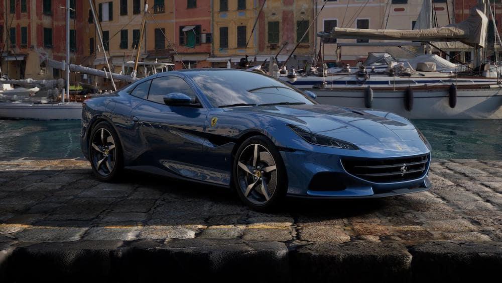 Ferrari Portofino M in Blu Mirabeau