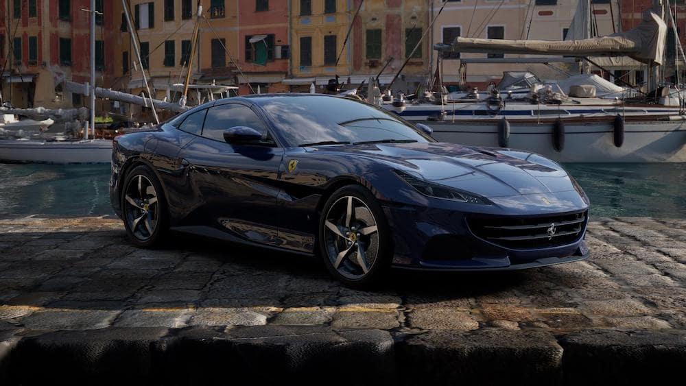 Ferrari Portofino M in Blu Scozia