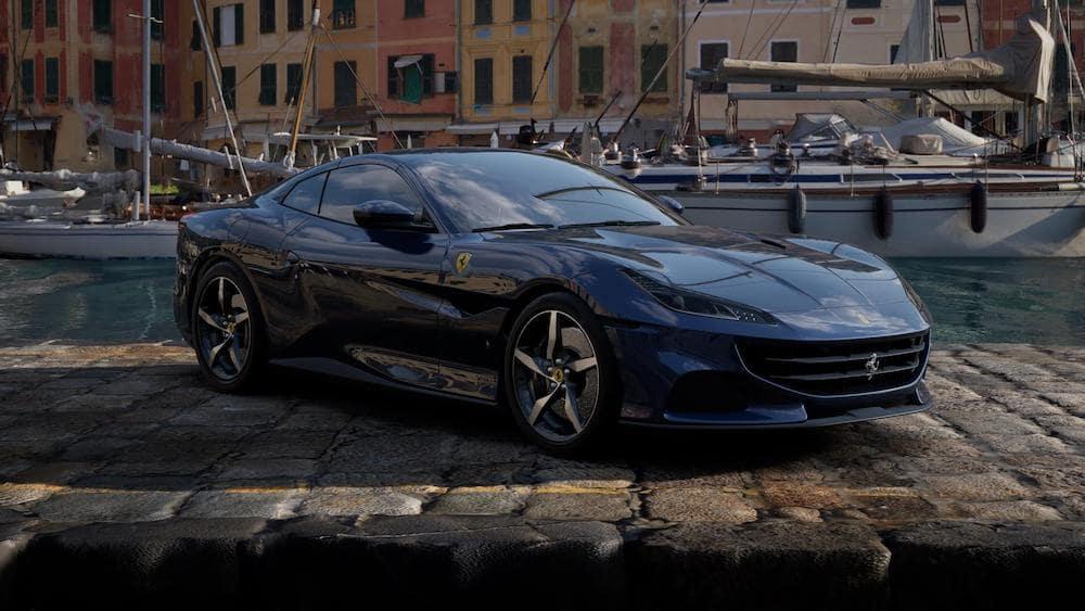 Ferrari Portofino M in Blu Swaters