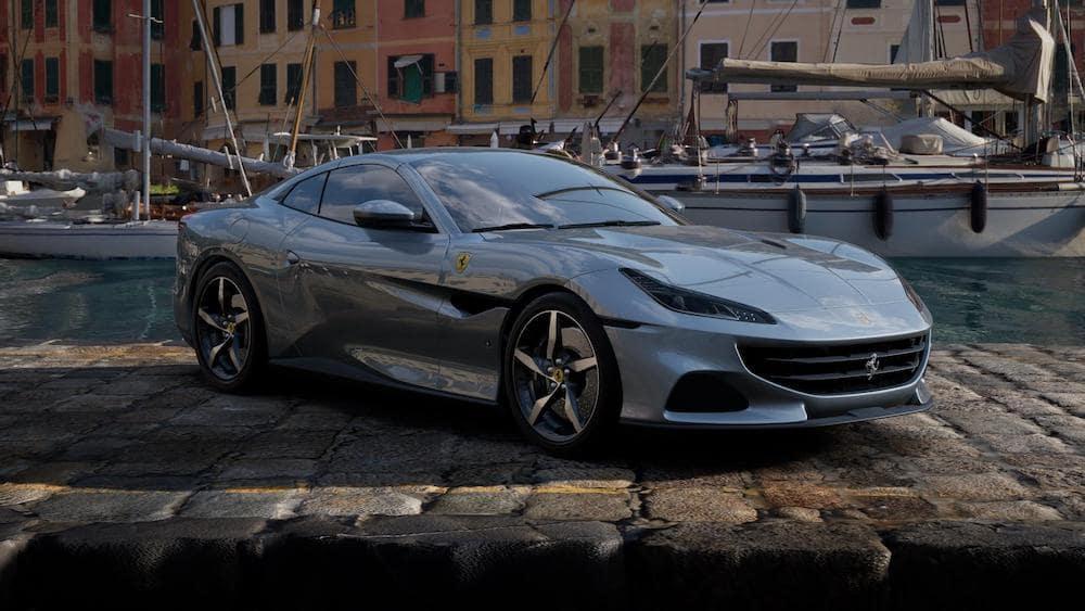 Ferrari Portofino M in Grigio Titanio Metall