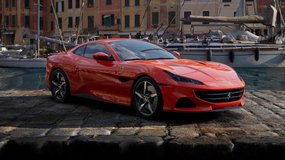 Ferrari Portofino M in Rosso Dino