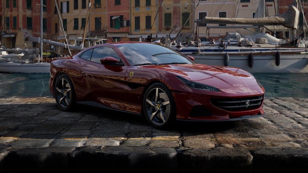 Ferrari Portofino M in Rosso Mugello