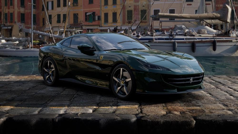 Ferrari Portofino M in Verde British