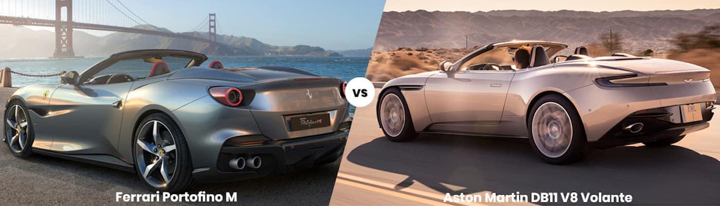 Ferrari Portofino M vs Aston Martin DB11 V8 Volante