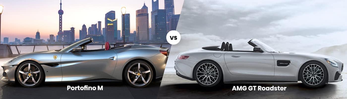 Ferrari Portofino M vs AMG GT Roadster