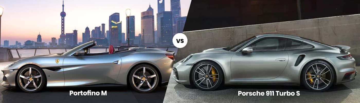 Ferrari Portofino M vs Porsche 911 Turbo S