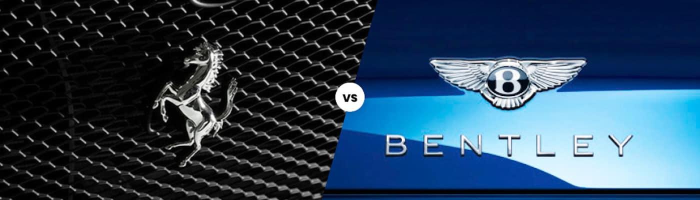 Ferrari vs Bentley