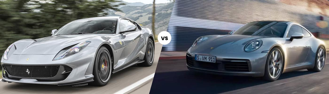 Ferrari vs Porsche