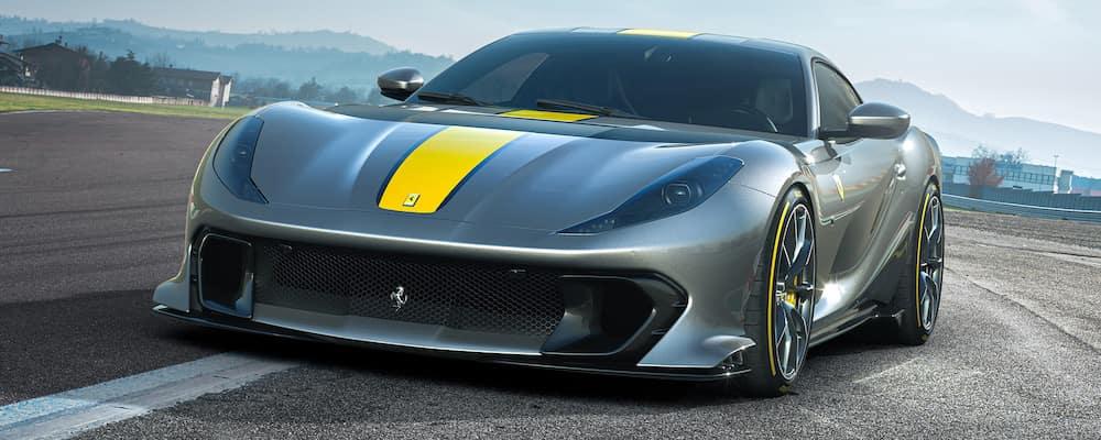 Ferrari 812 Competizione on the track