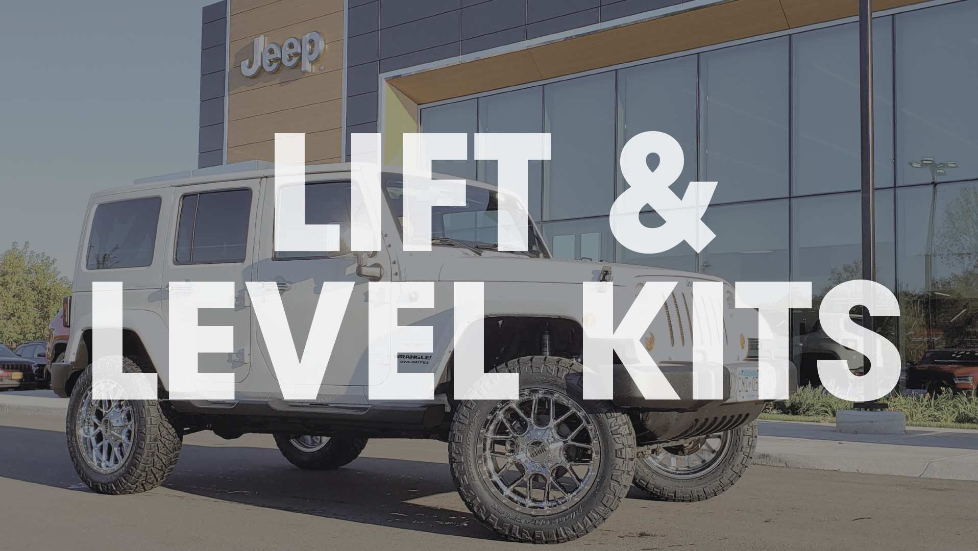 lift and level kits icon