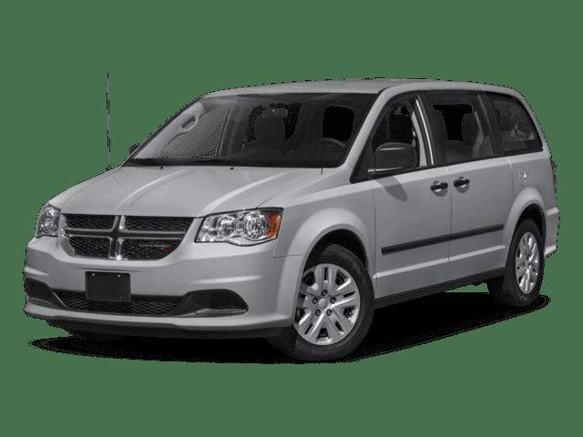 2018 Dodge Grand Caravan Angled
