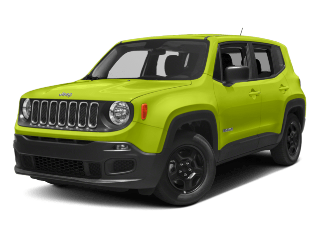 2018 Jeep Renegade Angled