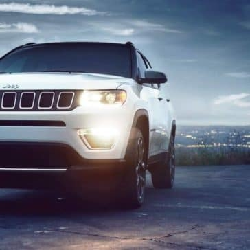 2018 Jeep Compass near water
