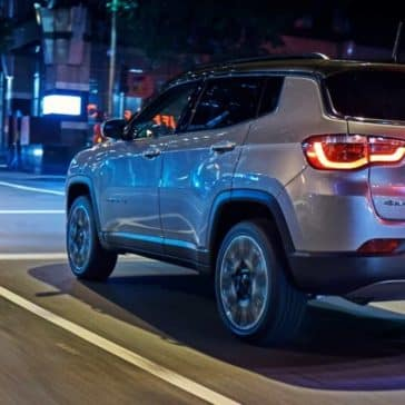 2018 Jeep Compass on city street