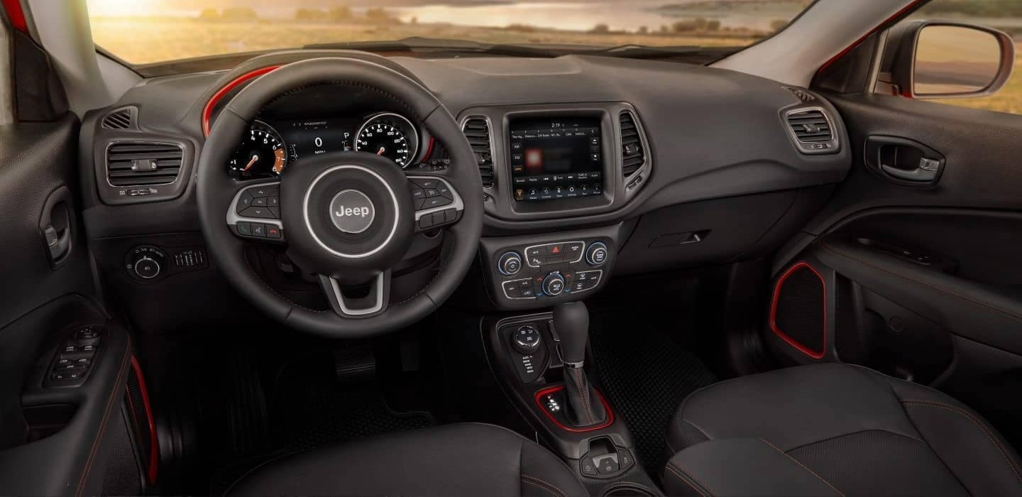 2018 Jeep Compass dashboard