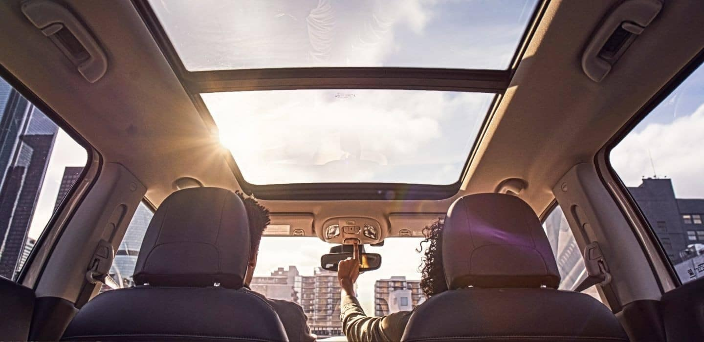 panoramic roof in 2018 Jeep Compass
