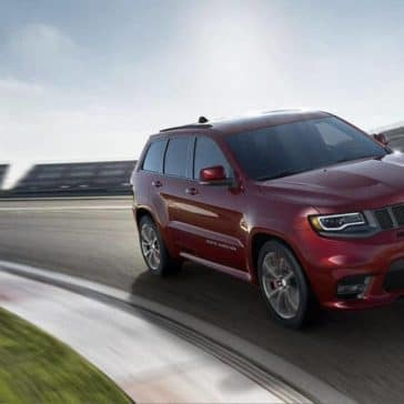 2018 Jeep Grand Cherokee on track