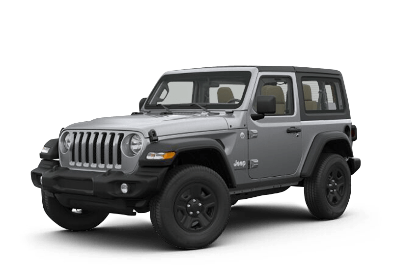 2018 Jeep Wrangler Sport 2 Door Billet Silver Banner